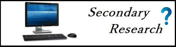 Sources of Secondary Market Research