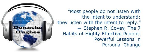 The art of listening - blog banner