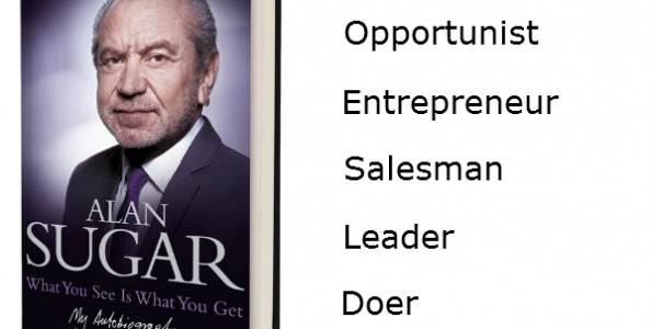 Alan Sugar book - what you see is what you get