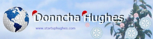 Happy Christmas from Donncha Hughes