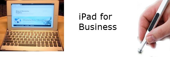 my iPad for business