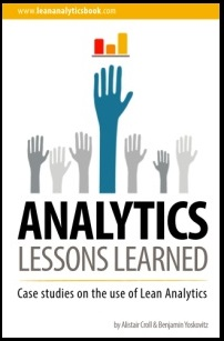 Lean analytics lessons learned by Ben and Alistair
