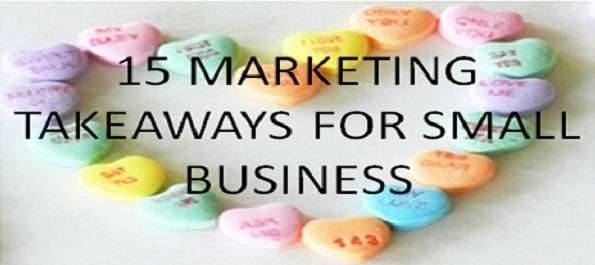 Marketing Takeaways by Donncha Hughes