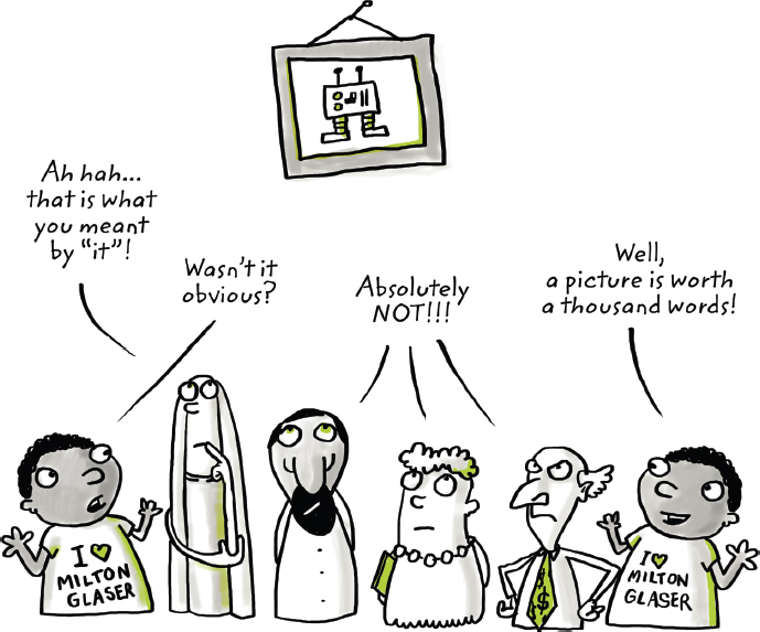 disciplined entrepreneurship cartoon Visual representation of Product