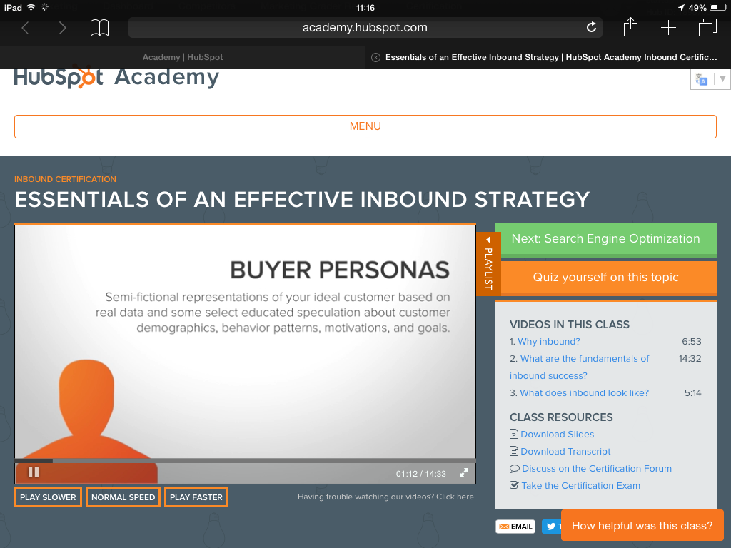 Buyer Personas by Hubspot