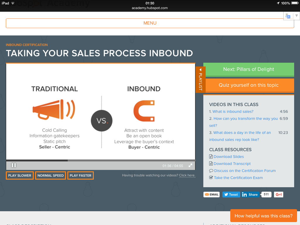 Traditional vs Inbound Sales via Hubspot