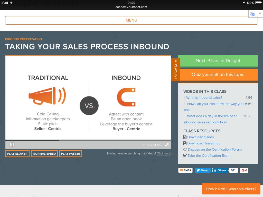 Traditional vs Inbound Sales via Hubspot