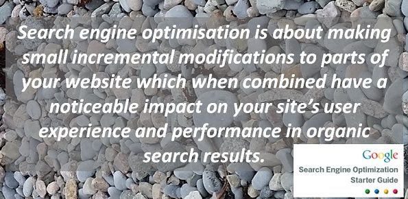 SEO Google Starter Guide Quote for Banner
