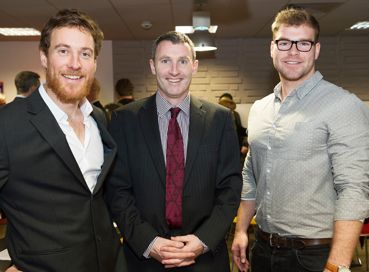 Richard McCurry, Newby Chinese; Donncha; and Jack Dineen, OSME.