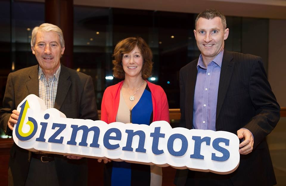 With fellow Bizmentors.ie Advisory Board Members Billy Walsh and Dympna Ormond - at the Clayton Hotel, November 2016