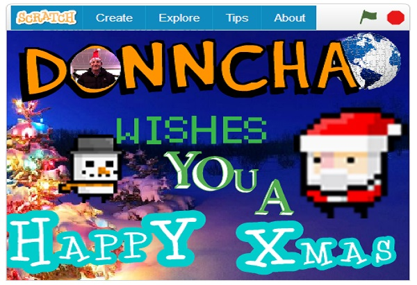 Christmas Message 2017 – Scratch Animation