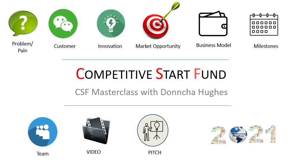CSF Masterclass 2021 by Donncha Hughes Independent Business Advisor