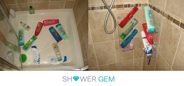 Thanks ShowerGem – brilliant new Shower Organiser