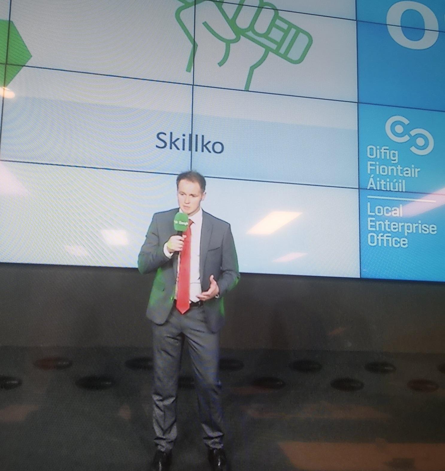 MAYO - Brendan Maloney, Skillko - Runner Up in Best Business Startup