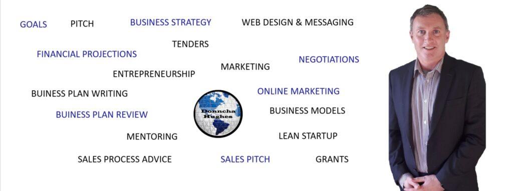 Expertise of Donncha Hughes, Business Advisor