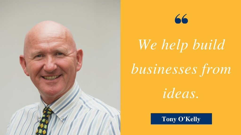 Tony O'Kelly New Frontiers Programme Manager GMIT